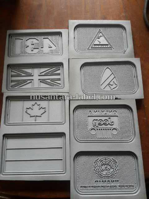 Molding Cetakan Patch Rubber