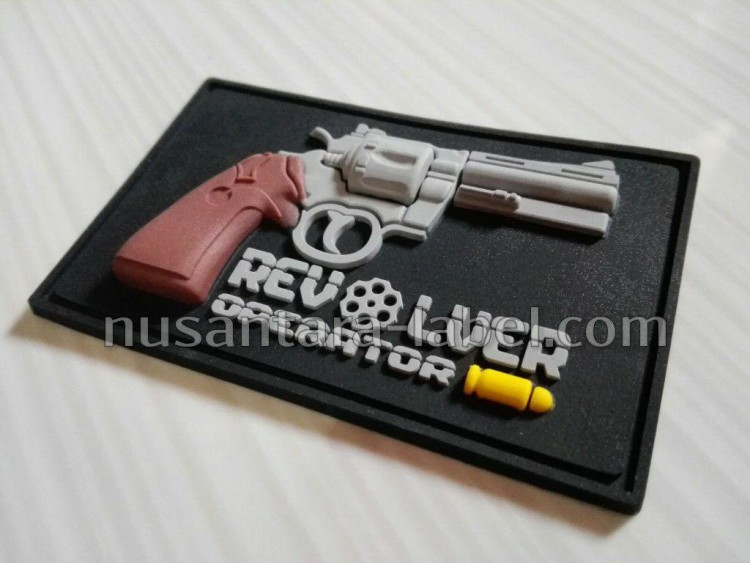 Patch Rubber 3D Revolver